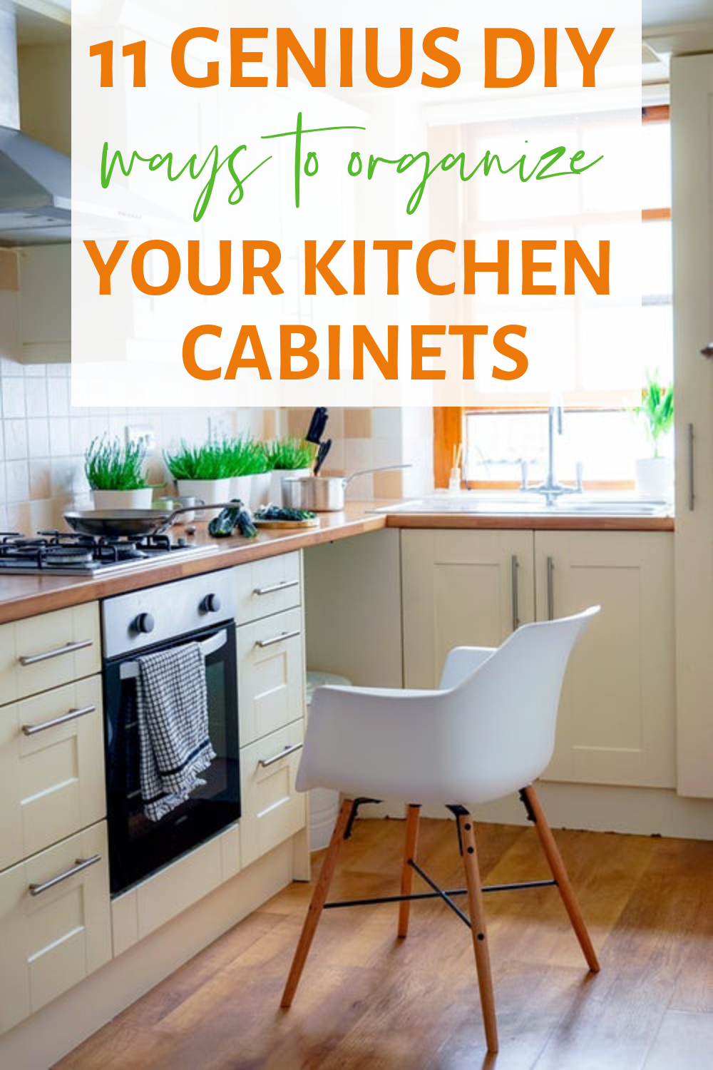 11 genius diy ways to organize your kitchen cabinets with images kitchen organization tidy on kitchen organization diy id=90521