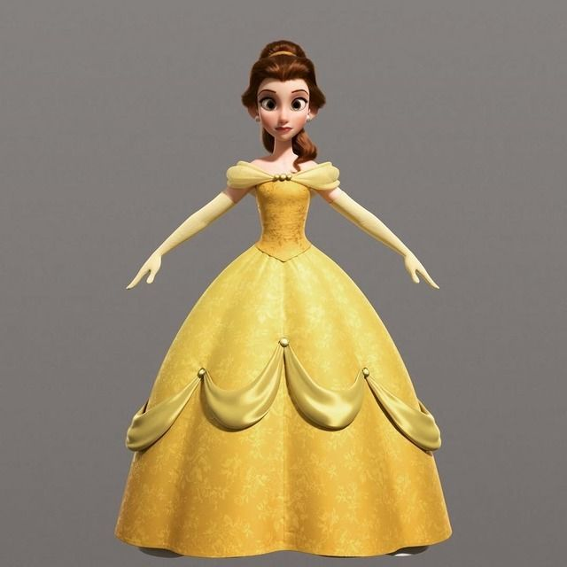 Belle From Ralph Breaks The Internet Belle Disney Disney Princess Belle Beauty And The Beast