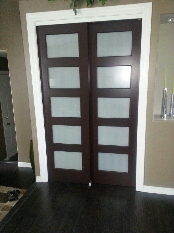 New Closet Doors Replaced The Bi Fold Doors Replacing