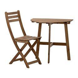 Sedie E Tavoli Da Esterno Ikea.Pin Em Restyling Balconcino