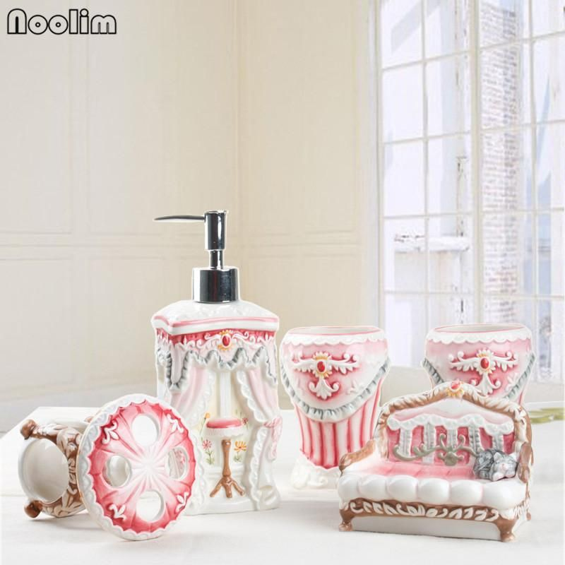 5 pieces Princess bathroom accessories | Bathroom Accessories ...