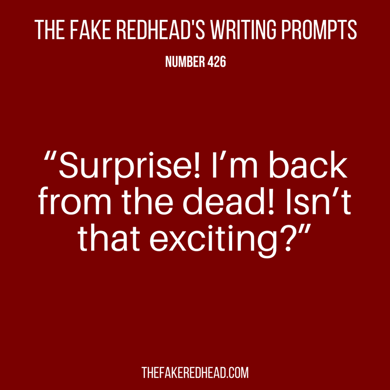 Writing Prompts No. 401-500