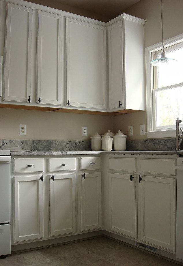 cabinets painted white and distressed diy kitchen how distress