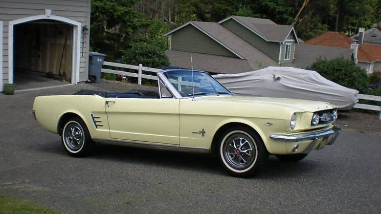 Springtime Yellow 1966 Ford Mustang Convertible Mustangattitude Yellow Mustang Mustang Convertible Mustang