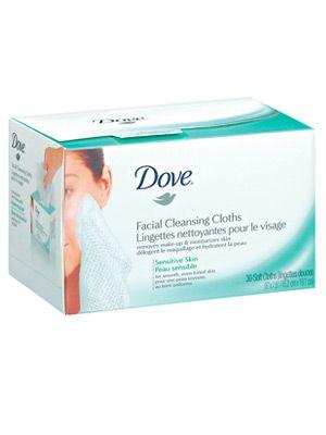 Cloths facial cleanser