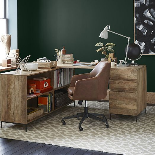 west elm office chair. Helvetica Leather Office Chair. West Elm Chair
