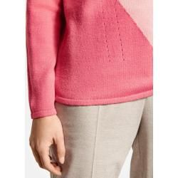 Photo of Pullover mit Farbfleck Pink Gerry Weber