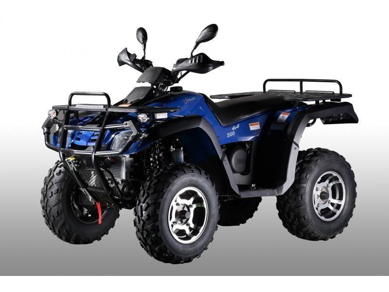Atomik 300cc Blue 4x4 Krusher Quad Bike Quad Bike Bike Quad