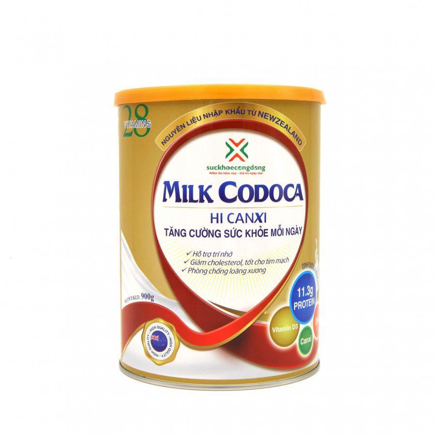 Sữa Dinh Dưỡng Tăng Cường Sức Khỏe Milk Codoca Hộp 900g Dinh Dưỡng Sữa Sức Khỏe