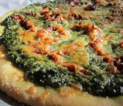 Pizza can be healthy! When you make it at home, at least.  Try this healthy homemade pizza crust from Green House Cuisine
