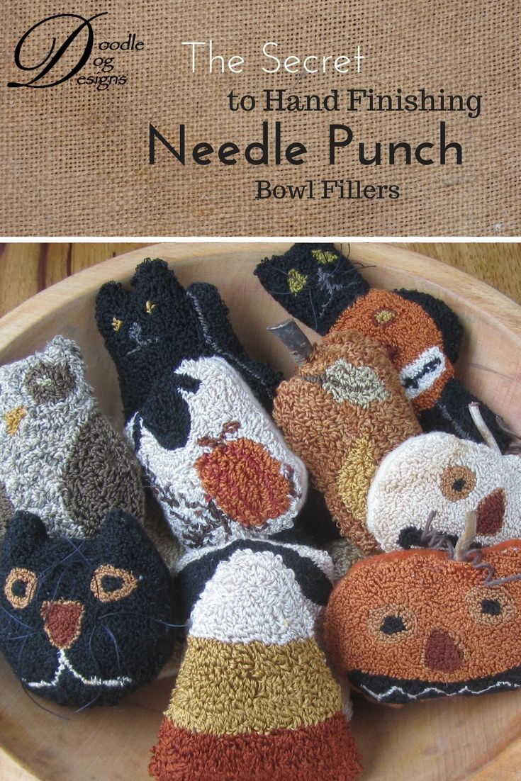 19+ Design works crafts punch needle info