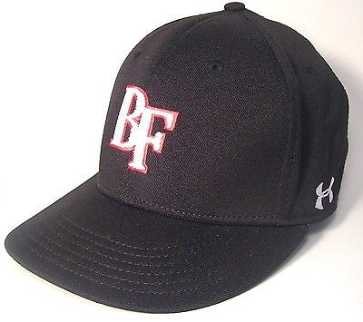 Under Armour Headgear Black Bold Face BF Solid Performance Flex Hat Size  Medium 95b69a708ca