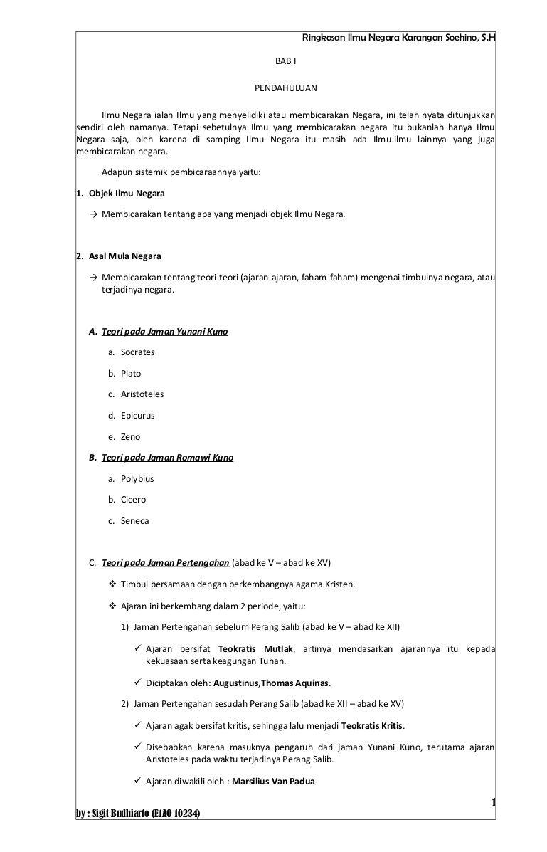 resume-buku-ilmu-negara-karangan-soehino by Sigit Budhiarto via ...