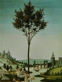 AnnunciationCestello (detail) - Sandro Botticelli