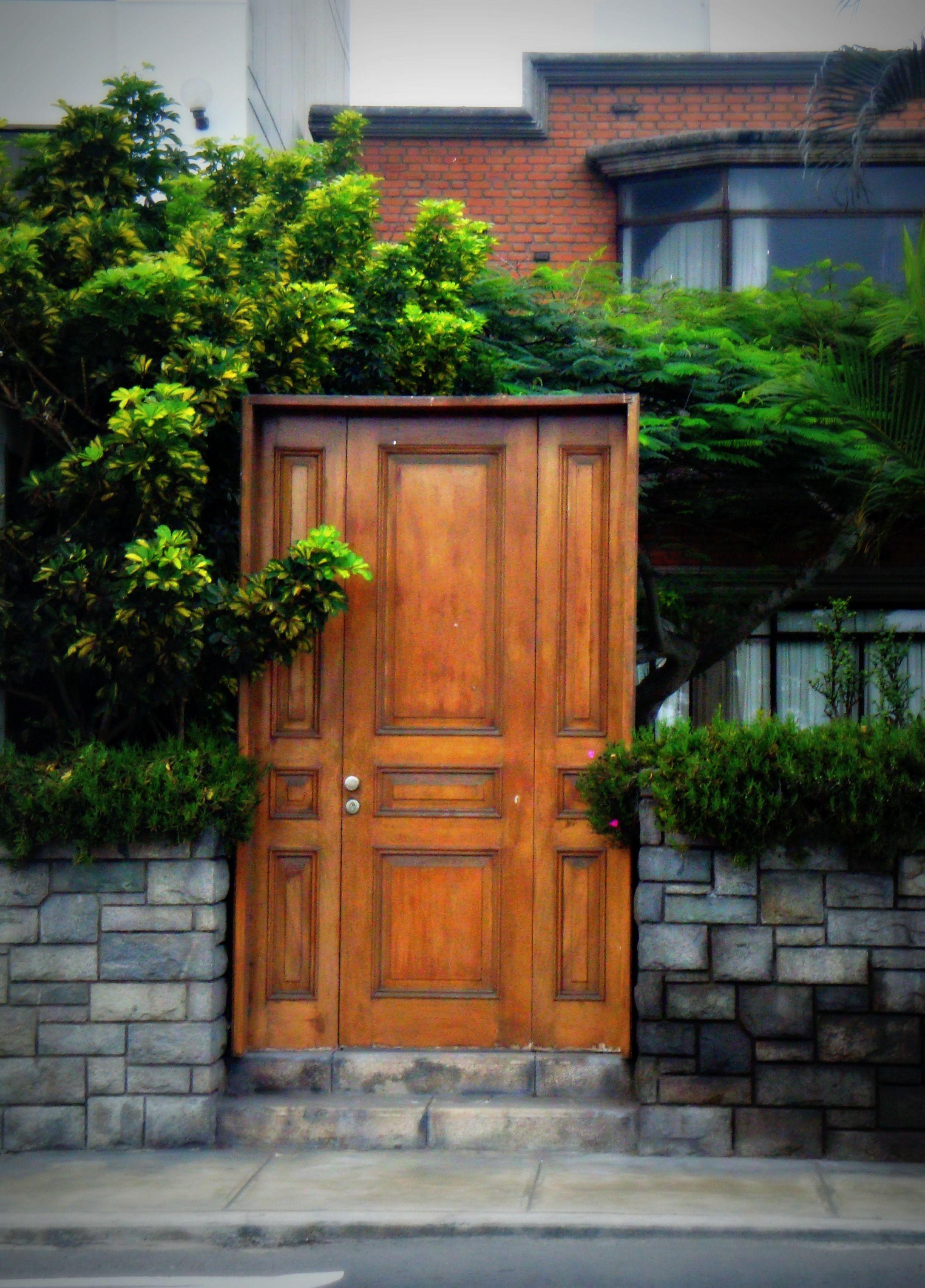 Barranco Lima Peru Beautiful Doors Unique Doors Places