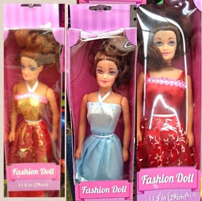 We Are Dark Haired Caucasian Fashion Dolls At The 99 Cents Only Store Though Also Show Up Other Dollar Stores