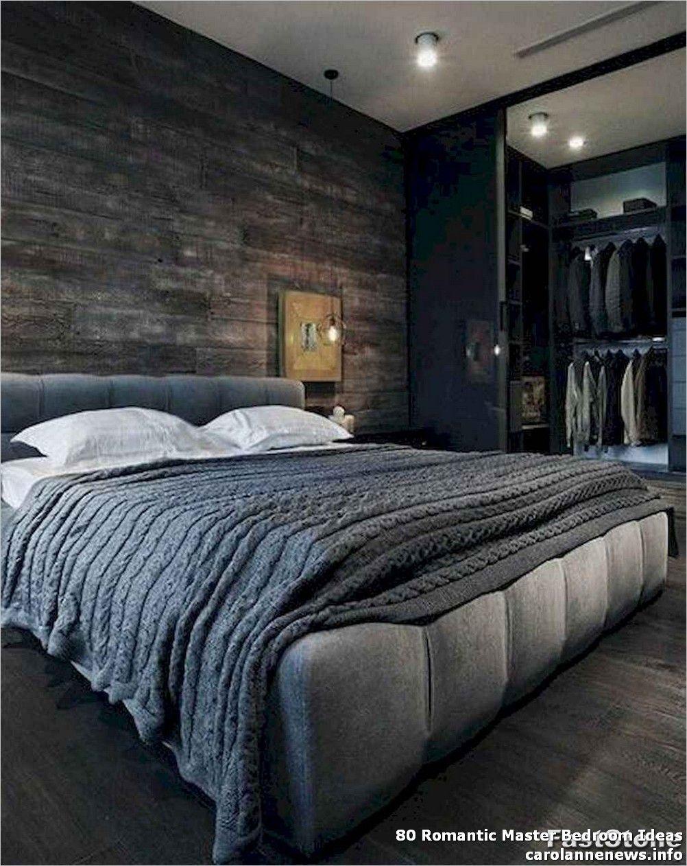 80 Romantic Master Bedroom Ideas - In actual fact, smaller ...