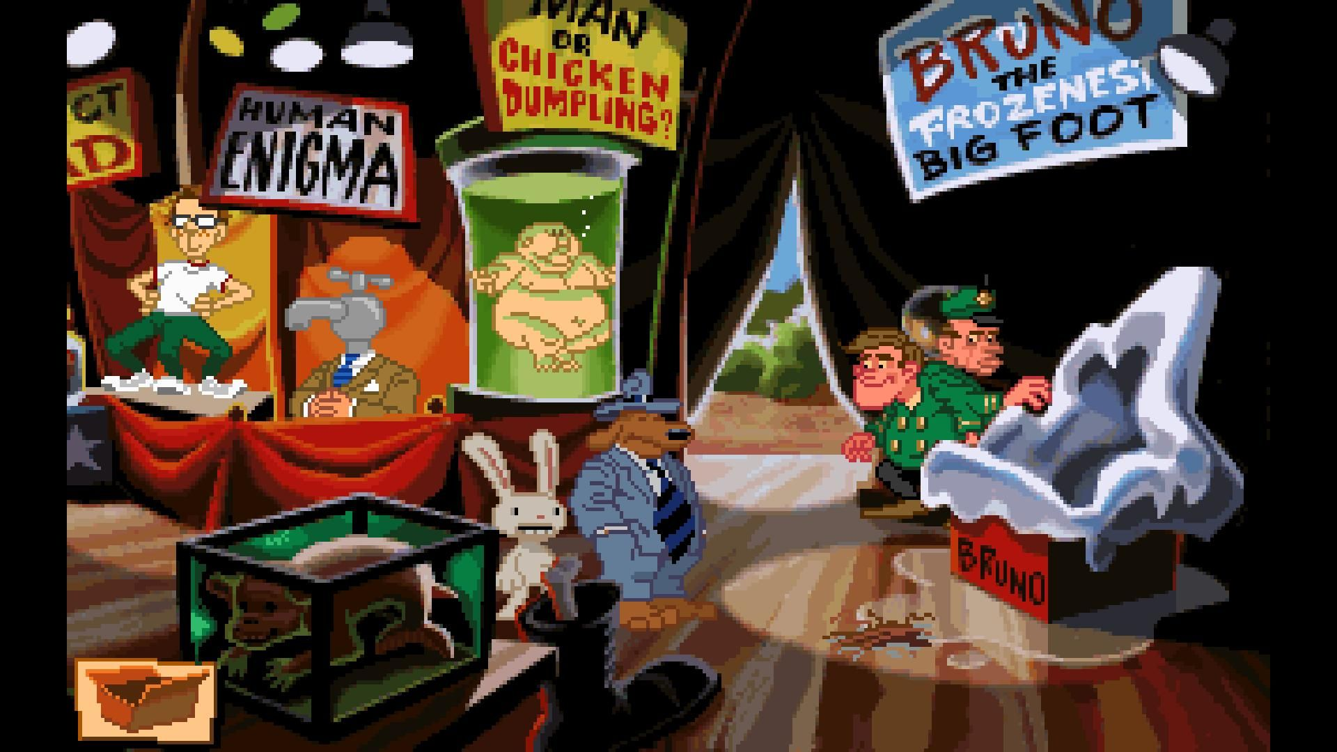 Sam And Max Hit Road Cover Art