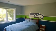 Image result for paint a room seahawks colors | Ocean projec ...