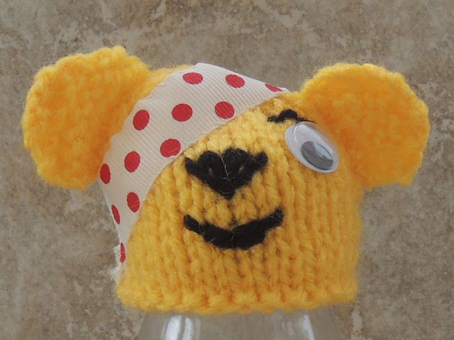 Innocent Big Knit Hat Pattern Pudsey Bear Free Knitting Pattern