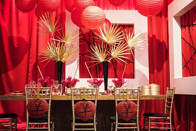 Chinese New Year Decor By Dan Meiners Window Swaggery Pinterest