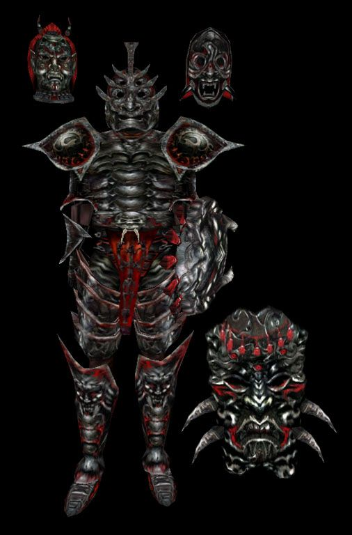 Daedric Armor - Morrowind - This armor looked a bit too