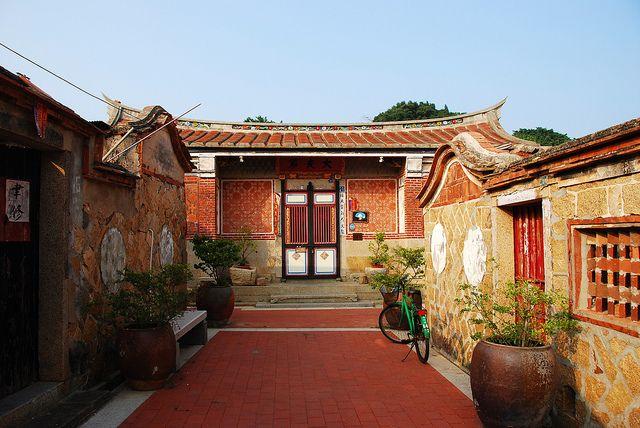 B&B, guest house,  hundred-year-old house, Kinmen #Taiwan 珠山聚落 大夫第 民宿