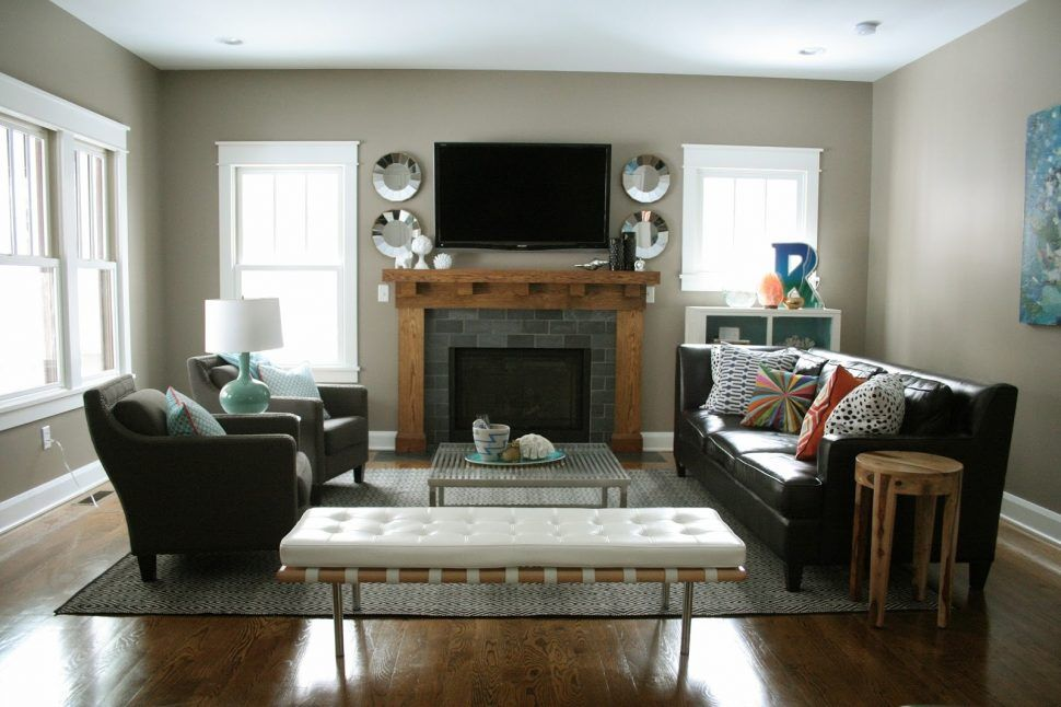 Livingroom To Arrange Furniture In Narrow Living Room With
