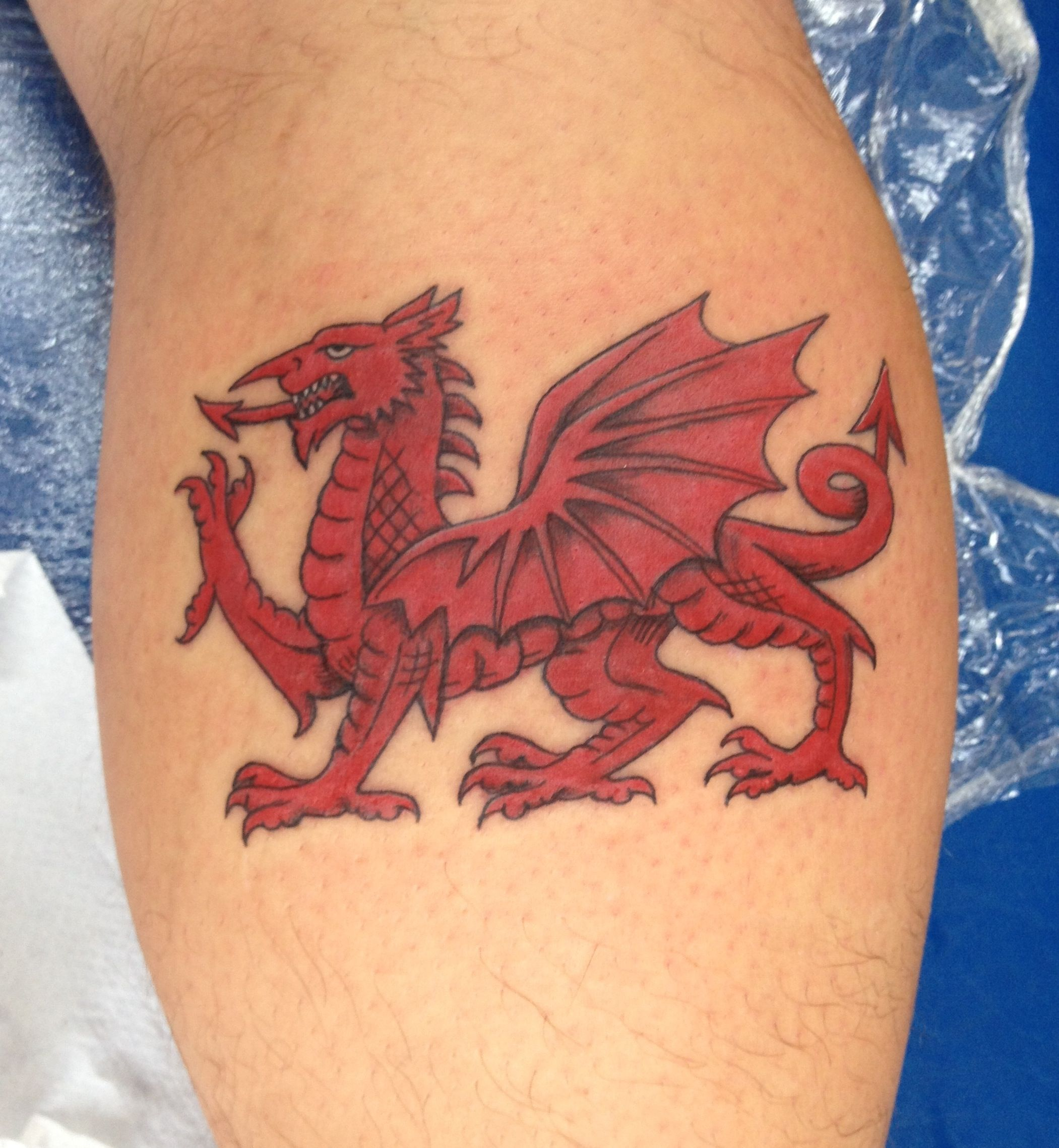 Pin By Cathy Jones Arnold On Wales Welsh Tattoo Celtic Dragon Tattoos Tattoos