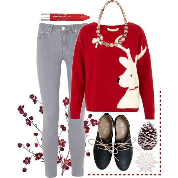 """""""Christmas Sweater"""" by totalbettysociety on Polyvore"""