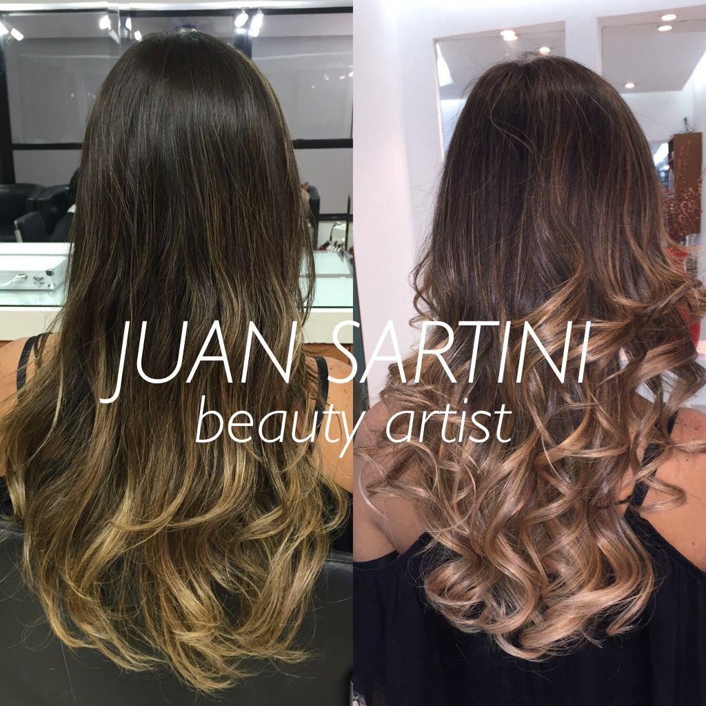 #juansartini #juansartiniarrasando #sartifiquese #fizcomjuansartini #loiro #loirodossonhos #dreamsblond #loirolindo #loiropoderoso #cabelodossonhos #cabelofabuloso #mechas3d #balayage #transparencias #antesedepois #repicado #repicadodossonhos #beforeandafter #wella #colorperfect #colortouch Antes e Depois do Ombrè Hair de Marcela Chain By Juan Sartini