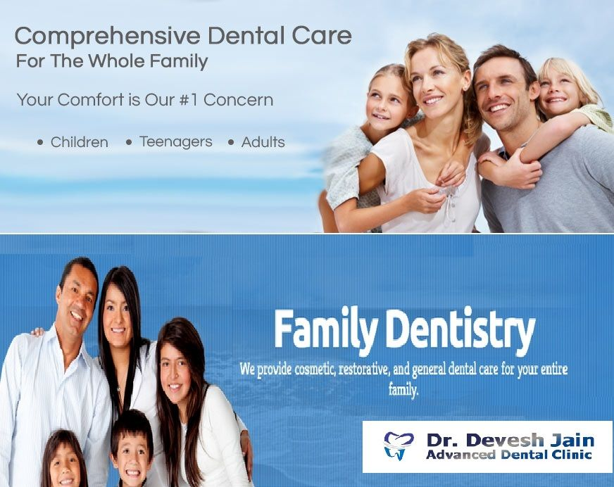 Family dentistry treats oral health at each stage of life