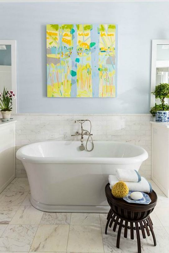 The Southern Living Idea House by Bunny Williams  Bathroom WallBathroom  IdeasBath. The Southern Living Idea House by Bunny Williams   Southern living