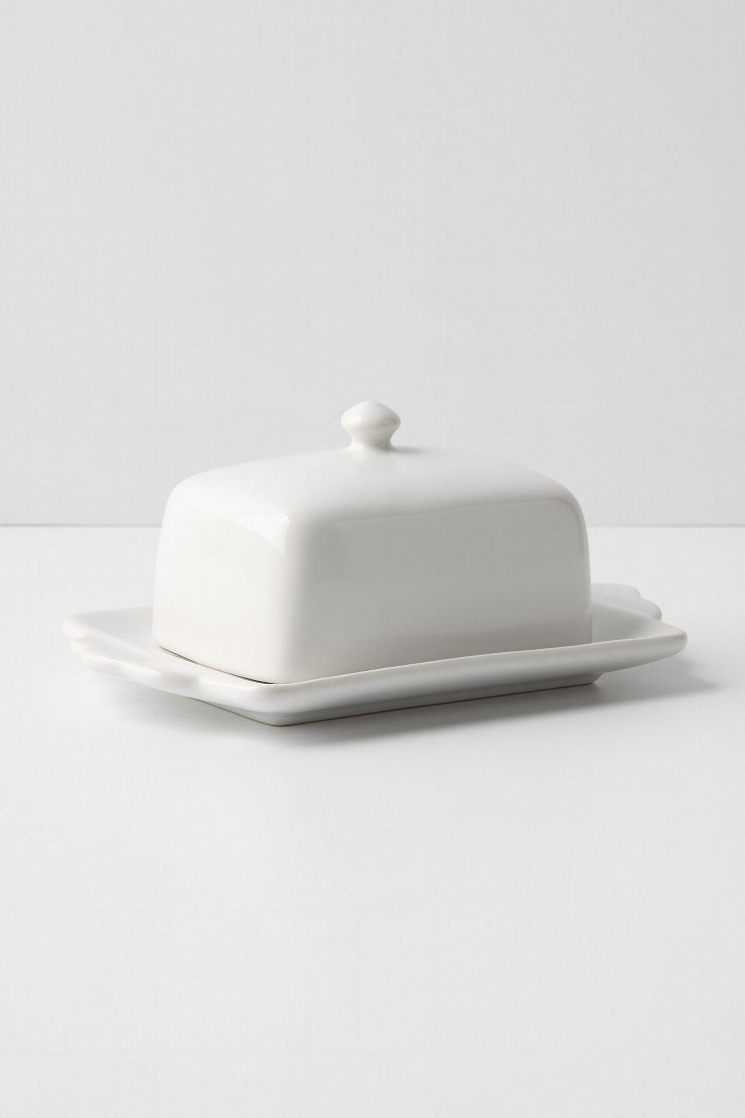 Tea And Toast Butter Dish Butter Dish Dishes Anthropologie Kitchen