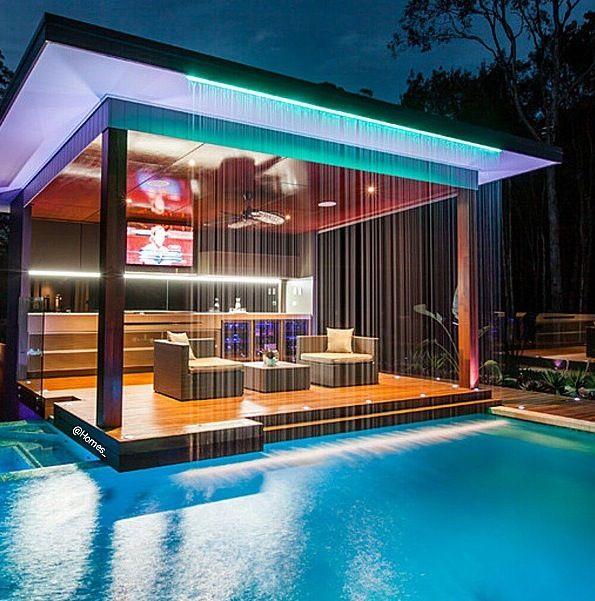 Top 32 Diy Fun Landscaping Ideas For Your Dream Backyard: Modern Outdoor Furniture, Outdoor Kitchen