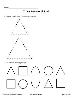 Shapes 2D Triangles Clip art KindergartenKlubcom t