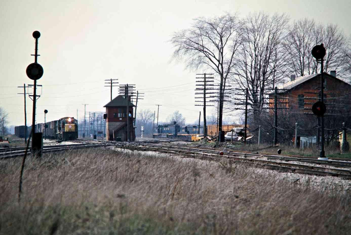 Crbo sterling ohio 1976 railroad photography