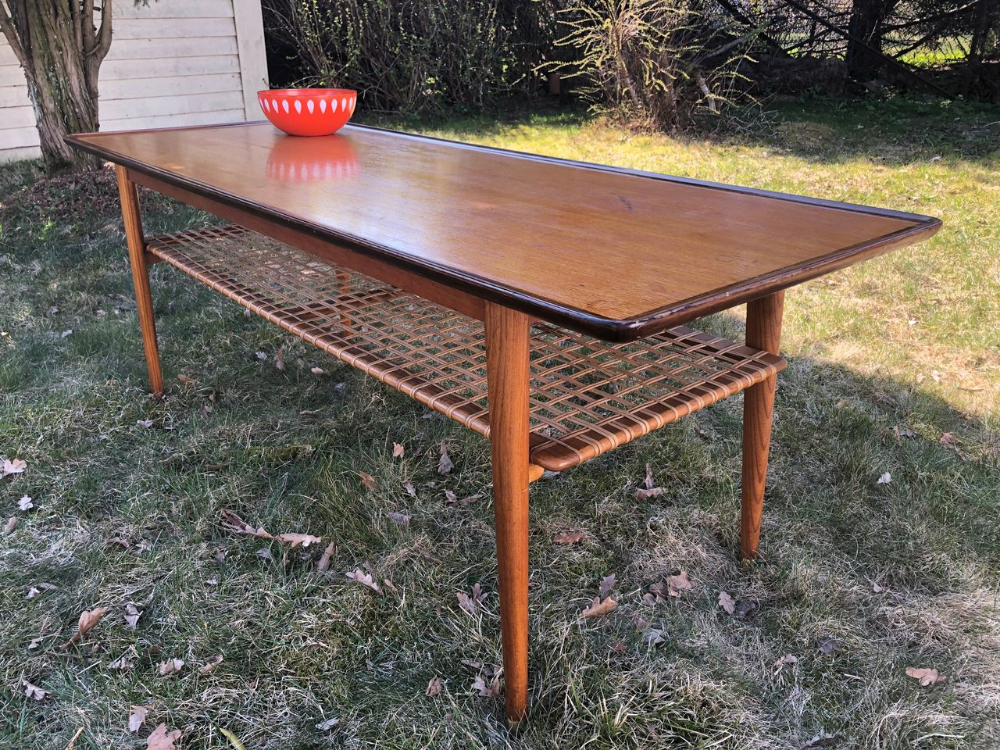 Retro teak salongbord | FINN.no