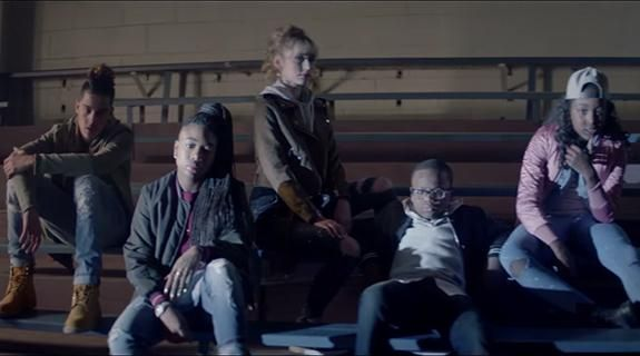"""Hot Spot: @lifetimetv's """"The Rap Game"""" spoghtlights its young competitors in collaborative music video."""