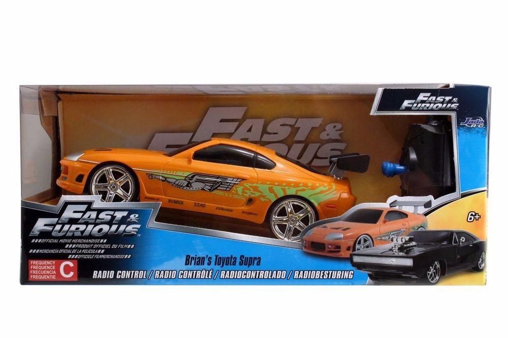 Jada Toys Fast And Furious 1 24 Radio Control Car Brian S Toyota