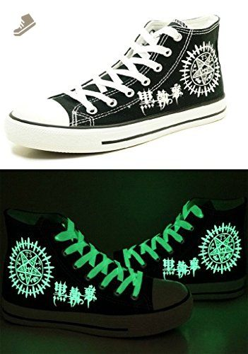 Gintama Cosplay Shoes Canvas Shoes Sneakers Luminous