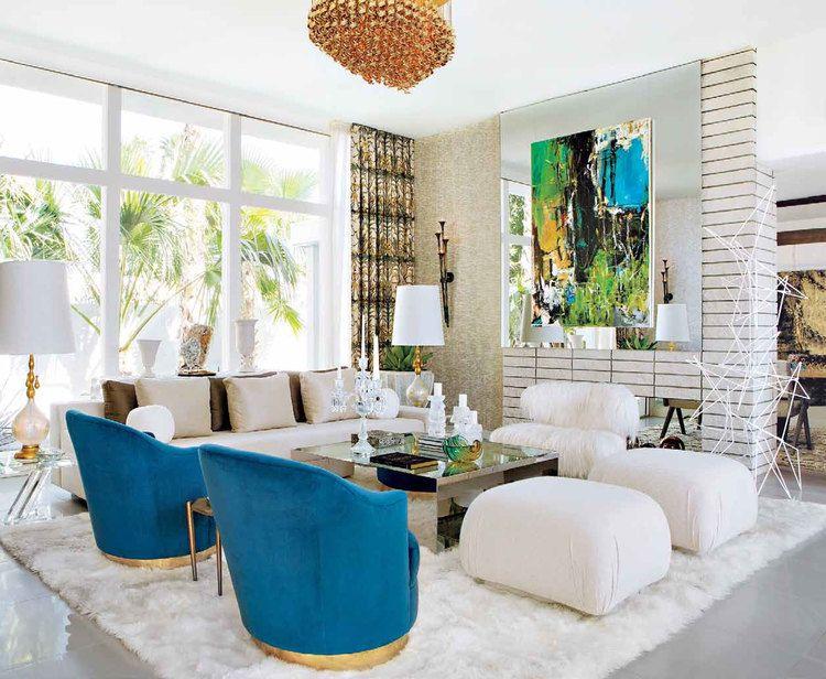 2014 The Christopher Kennedy Compound Palm Springs Interior Design Spring Living Room Spring Interiors
