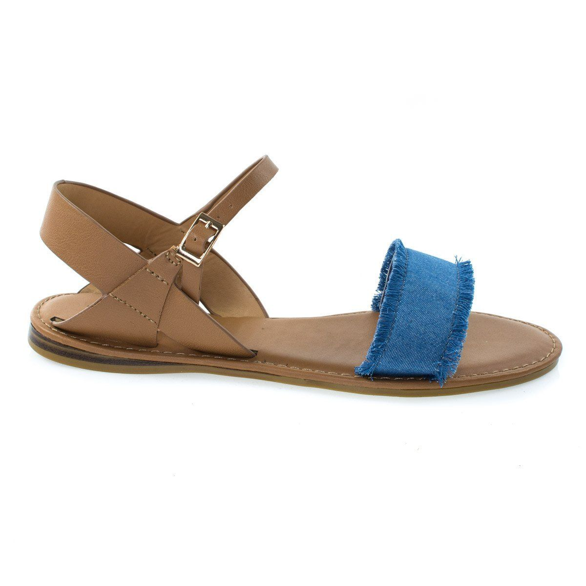 Bliss19M By Bamboo, Women's Flat Sandal w Torn Frail