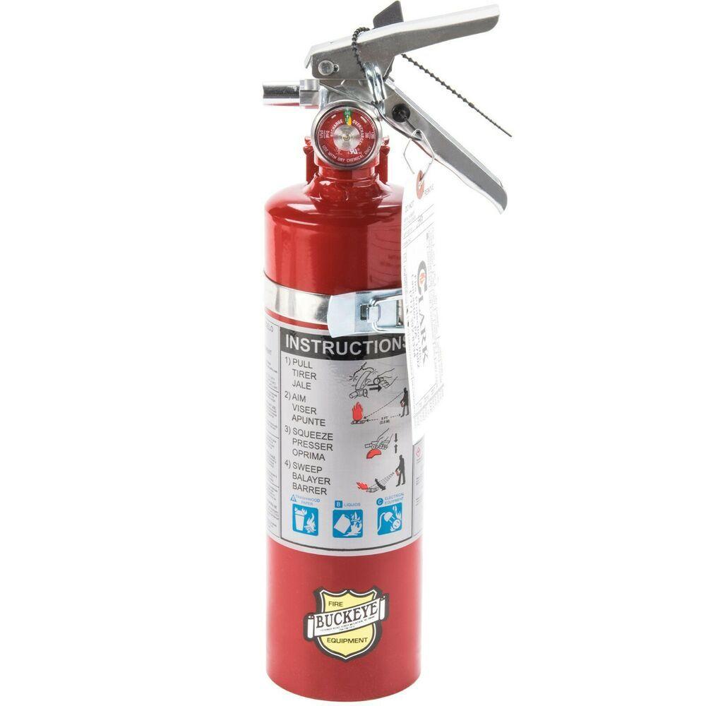 Automotive Fire Extinguisher >> Sponsored Ebay Buckeye Fire Extinguisher 1a 10b C Dry
