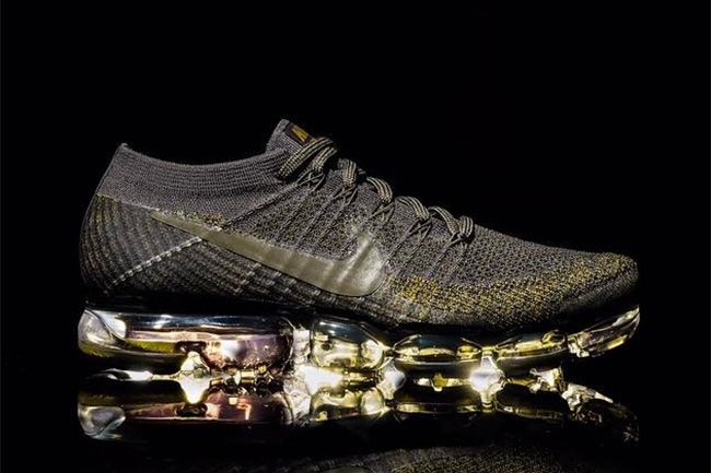 9fae423657a2a Nike Air VaporMax Flyknit to Release with a Touch of Gold - EU Kicks  Sneaker  Magazine