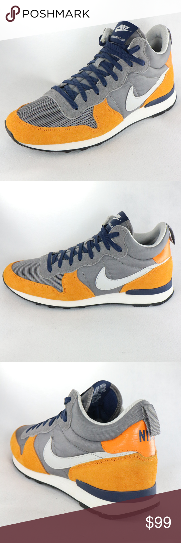 b4f2183f0e3 NIKE Internationalist Mid PRM Light Ash Copper Super clean 2014 Nike  Internationalist and like new condition