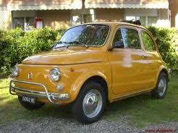 Bilderesultat for fiat 500 nuova colore giallo positano  fb22945b07b