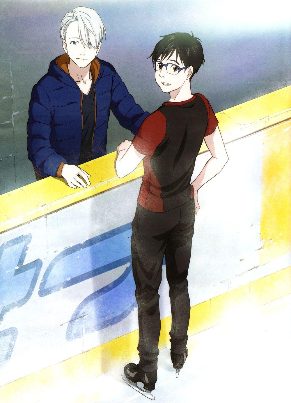 Yuuri and Viktor | Yuri!!! on Ice
