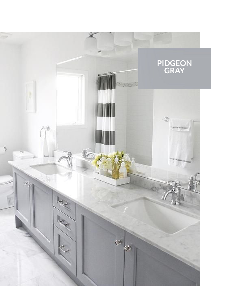 TOP 10 GRAY CABINET PAINT COLORS