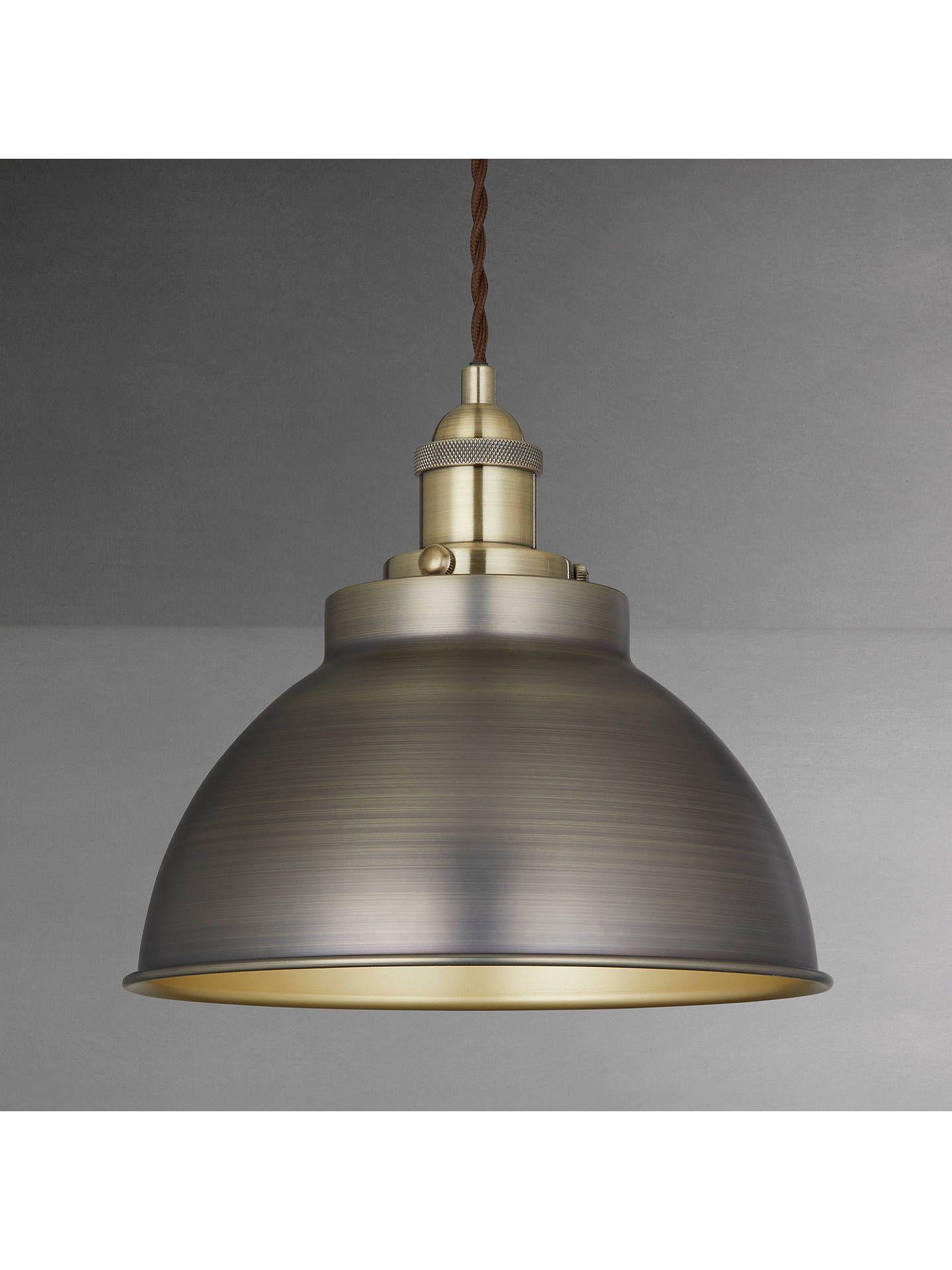 d7f10cb85ad4 BuyJohn Lewis & Partners Baldwin Pendant Ceiling Light, Antique Brass  Online at johnlewis.com